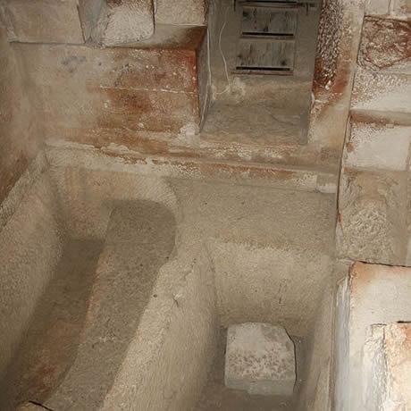 Interior Pirámides de Egipto