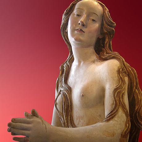 María Magdalena en el Louvre